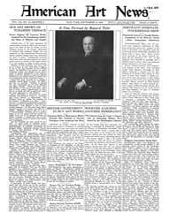 American Art News : 1922 Vol. 20 No. 40 ... Volume Vol. 20 by Esterow, Milton