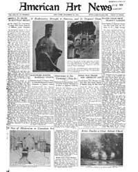 American Art News : 1922 Vol. 21 No. 12 ... Volume Vol. 21 by Esterow, Milton