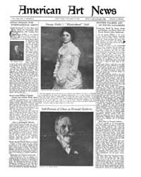 American Art News : 1922 Vol. 21 No. 1 O... Volume Vol. 21 by Esterow, Milton