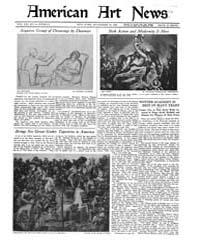 American Art News : 1922 Vol. 21 No. 6 N... Volume Vol. 21 by Esterow, Milton