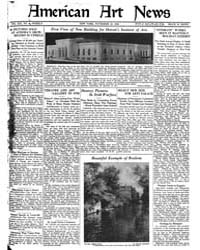 American Art News : 1922 Vol. 21 No. 7 N... Volume Vol. 21 by Esterow, Milton