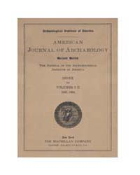 American Journal of Archaeology : 1906 V... Volume Vol. 10 by Norman, Naomi, J.