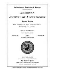 American Journal of Archaeology : 1907 V... Volume Vol. 11 by Norman, Naomi, J.