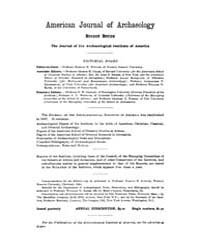 American Journal of Archaeology : 1913 V... Volume Vol. 17 by Norman, Naomi, J.