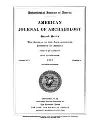 American Journal of Archaeology : 1915 V... Volume Vol. 19 by Norman, Naomi, J.