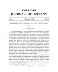 American Journal of Botany : 1914 Vol. 1... Volume Vol. 1 by Jernstedt, Judy