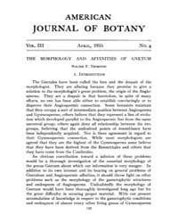 American Journal of Botany : 1916 Vol. 3... Volume Vol. 3 by Jernstedt, Judy