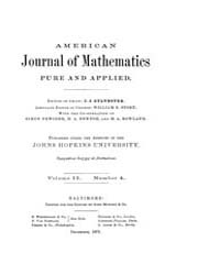 American Journal of Mathematics : 1879 V... Volume Vol. 2 by Sogge, Christopher