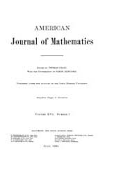 American Journal of Mathematics : 1894 V... Volume Vol. 16 by Sogge, Christopher