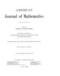 American Journal of Mathematics : 1899 V... Volume Vol. 21 by Sogge, Christopher