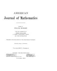 American Journal of Mathematics : 1902 V... Volume Vol. 24 by Sogge, Christopher