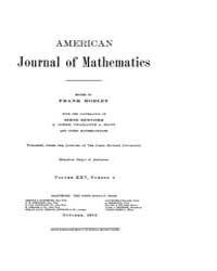American Journal of Mathematics : 1903 V... Volume Vol. 25 by Sogge, Christopher