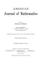 American Journal of Mathematics : 1917 V... Volume Vol. 39 by Sogge, Christopher