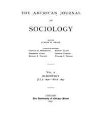 American Journal of Sociology : 1896 Vol... Volume Vol. 2 by Abbott, Andrew
