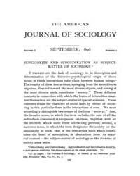 American Journal of Sociology : 1896 Vol... Volume Vol. 2 by Abbott, Andrew