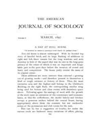 American Journal of Sociology : 1897 Vol... Volume Vol. 2 by Abbott, Andrew