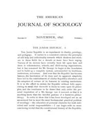 American Journal of Sociology : 1897 Vol... Volume Vol. 3 by Abbott, Andrew