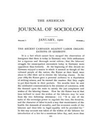 American Journal of Sociology : 1900 Vol... Volume Vol. 5 by Abbott, Andrew