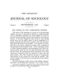 American Journal of Sociology : 1900 Vol... Volume Vol. 6 by Abbott, Andrew