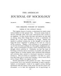 American Journal of Sociology : 1901 Vol... Volume Vol. 6 by Abbott, Andrew