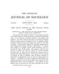 American Journal of Sociology : 1902 Vol... Volume Vol. 7 by Abbott, Andrew