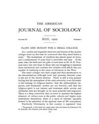American Journal of Sociology : 1902 Vol... Volume Vol. 7 by Abbott, Andrew