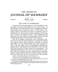 American Journal of Sociology : 1904 Vol... Volume Vol. 9 by Abbott, Andrew
