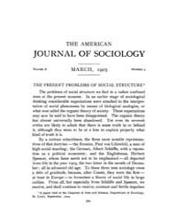 American Journal of Sociology : 1905 Vol... Volume Vol. 10 by Abbott, Andrew