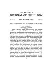 American Journal of Sociology : 1905 Vol... Volume Vol. 11 by Abbott, Andrew