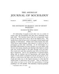American Journal of Sociology : 1906 Vol... Volume Vol. 11 by Abbott, Andrew