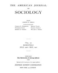 American Journal of Sociology : 1906 Vol... Volume Vol. 12 by Abbott, Andrew