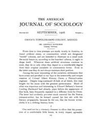 American Journal of Sociology : 1906 Vol... Volume Vol. 12 by Abbott, Andrew