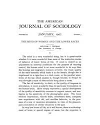 American Journal of Sociology : 1907 Vol... Volume Vol. 12 by Abbott, Andrew