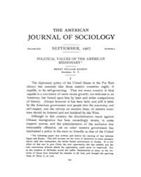 American Journal of Sociology : 1907 Vol... Volume Vol. 13 by Abbott, Andrew