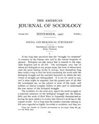 American Journal of Sociology : 1907 Vol... Volume Vol. 13 by Abbott, Andrew