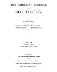 American Journal of Sociology : 1908 Vol... Volume Vol. 14 by Abbott, Andrew
