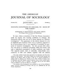 American Journal of Sociology : 1911 Vol... Volume Vol. 16 by Abbott, Andrew