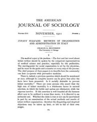 American Journal of Sociology : 1911 Vol... Volume Vol. 17 by Abbott, Andrew