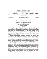 American Journal of Sociology : 1912 Vol... Volume Vol. 17 by Abbott, Andrew
