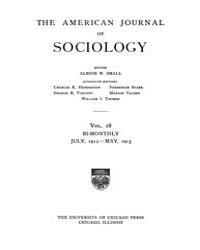 American Journal of Sociology : 1912 Vol... Volume Vol. 18 by Abbott, Andrew