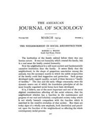 American Journal of Sociology : 1914 Vol... Volume Vol. 19 by Abbott, Andrew