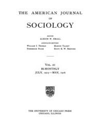 American Journal of Sociology : 1915 Vol... Volume Vol. 21 by Abbott, Andrew