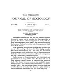 American Journal of Sociology : 1916 Vol... Volume Vol. 21 by Abbott, Andrew