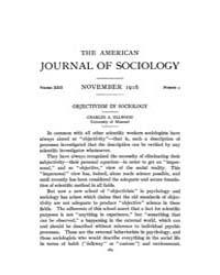 American Journal of Sociology : 1916 Vol... Volume Vol. 22 by Abbott, Andrew
