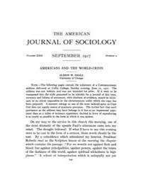 American Journal of Sociology : 1917 Vol... Volume Vol. 23 by Abbott, Andrew