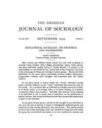 American Journal of Sociology : 1919 Vol... Volume Vol. 25 by Abbott, Andrew