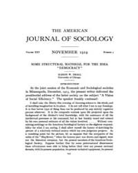 American Journal of Sociology : 1919 Vol... Volume Vol. 25 by Abbott, Andrew