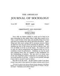 American Journal of Sociology : 1920 Vol... Volume Vol. 25 by Abbott, Andrew