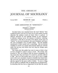 American Journal of Sociology : 1921 Vol... Volume Vol. 26 by Abbott, Andrew