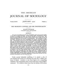 American Journal of Sociology : 1922 Vol... Volume Vol. 27 by Abbott, Andrew